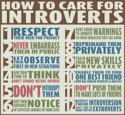 caring for introverts