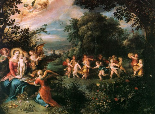 cherubs-dancing-in-the-garden-of-delights